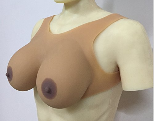 IVITA-Suntan-Skin-6XL-2000gpair-New-design-no-need-Bra-Silicone-Breast-Forms-for-crossdress-and-Drag-Queen-0