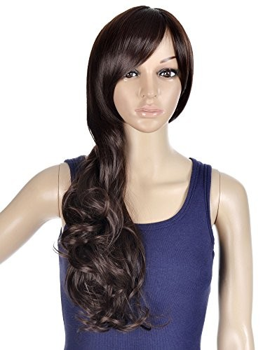 Simplicity-High-Quality-Long-Curly-Full-Wig-Wavy-Cosplay-Party-Wigs-0