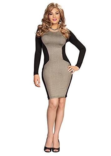 Suddenly-Fem-Supreme-Bodycon-Hourglass-Dress-For-Crossdressing-0